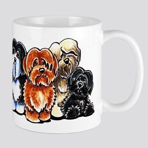 Four Havanese Mugs